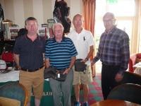 2019 Seandún Golf Classic: Mark Maher (captain), John Barry, Alan Maher with Niall Keane (Seandún Organiser)