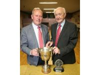 Chairman Derry Murphy and President Mick Barry