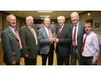 Presentation to Seandun President Mick Barry