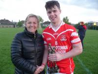 Dan Lucey (Mayfield), Man of the Match, U21 C Football final