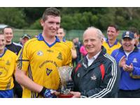 Man of the Match Adrian Murphy St Finbarrs