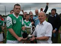 Sean Mc Carthy with Ballinure Captain