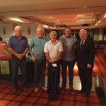 Centra Togher winning team at Golf Classic 2017