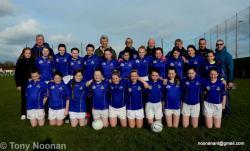 2018 Ladies U-14 F.L  v Shamrocks