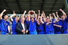 Barrs Captain Craig Power with the 2014 County Fe 21  A.F.C. Cup