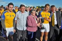 Presentation of JAHC Cup to Mark Sheehan