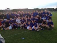 Kilshannig Celebrate Winning The North Cork Title