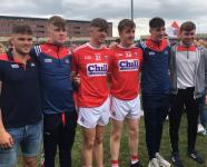 Cork U20 Kilshannig Players 2019