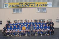 COUNTY MINOR HURLING LEAGUE & CHAMPIONS DOUBLE 2009