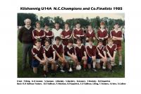 1985 u 14 A  Football Team