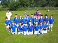 July 2012  U8 Boys Football
