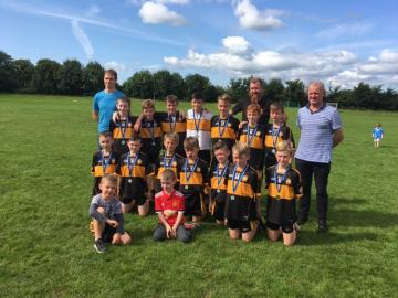 Currow U11 Jerry Foley Tournament Runners up 2018