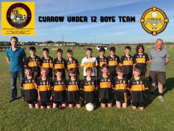 2018 U12 County League Winners
