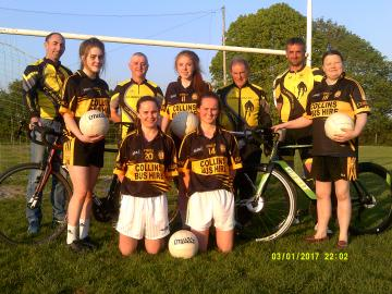 Currow Ladies GAA Cycle Launch 2018
