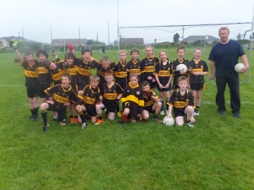 Currow U10 Team District Winners 2013