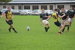 Danny McHugh kicks ball through