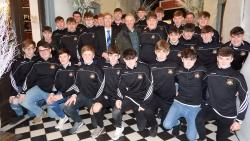 Longford U17s with Joe Schmidt