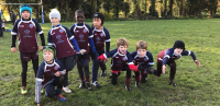 SRRFC Minis in Action on a Typical Sunday Morning!