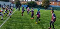 SRRFC Minis in Action v Bective at Donnybrook