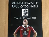 An Evening with Paul O'Connell