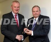 PRO of the year Award 2011  Gerard Lane