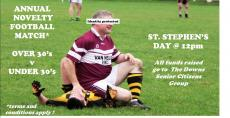 Annual Novelty Match on St Stephen's Day