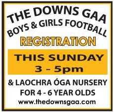 Registration this Sunday
