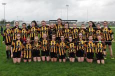 U14 Girls Feile Finalists 2014 photo by John McCaughey