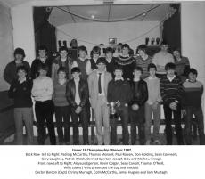 Ag Féachain Siar - 1982 see club notes below