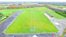 Drone photo of Kevin Molloy Park kindly taken by Marty Monaghan