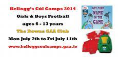 Kelloggs Cul Camp 2014