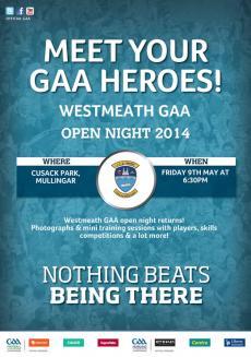 Westmeath Open Night this Fri