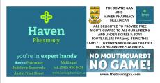 Haven Pharmacy sponsors mouth guards