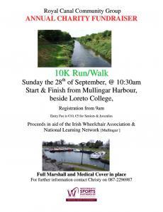 Royal Canal Community Group 10k Run / Walk