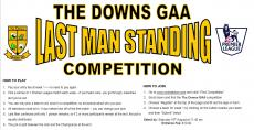 Last Man Standing Competition