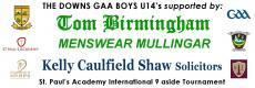Boys U14 heading to London this weekend