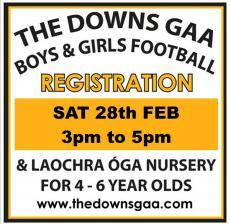 Registration Day Sat 28th Feb