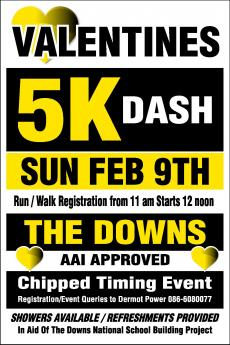 5K Dash for The Downs NS