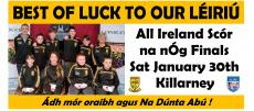 Killarney here we come !!