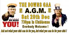 AGM moved to Dec 20th