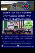 NB Cycling Club - Supporting Andy and Bill in Lip Sync