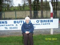 Margaret at Blackrock League Game