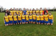 Beaufort senior Ladies team who played Castleisland Desmonds in Co League. Sunday, 17th April 2016