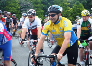Ring of the Reeks Cycle leaving Beaufort, Saturday, 27th July