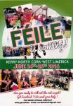 Beaufort Under 14 Boys and Girls will be taking part in Feile na nOg. 24th-26th June 2016