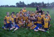 Beaufort Under 14 team. Mid Kerry A Championship winners. 29th September 2013
