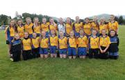 Beaufort Girls Under 14 Feile team 2016