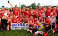 Junior A Footballers 2018 - Mid-Cork Champions