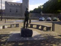 Michael Hartnett Statue