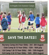 Summer Camp Dates 2021